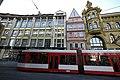 Kleinschmieden mit Straßenbahn, TRAM der HAVAG Halle (Saale) - panoramio.jpg