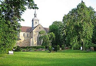 Mariental Abbey - Image: Klosterkircheost