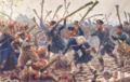 Knötel, Richard - Die Kolbenschlacht bei Hagelberg am 27. August 1813.png