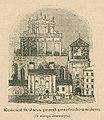 Kościół Ś. Jana przed przebudowaniem Ze starego drzeworytu (80254).jpg