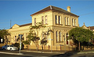 St. George Dragons - Kogarah School of the Arts where the club was formed in 1921