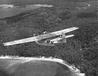 Koggala Airport - PBY Catalina being flown from RAF Koggala, 1944