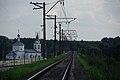 Kolychevo stop at Zilevo - Viskresensk railway (24732373740).jpg