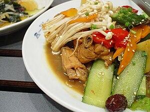 Andong jjimdak - A plate of Andong jjimdak