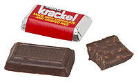 Miniature-sized Krackel bar