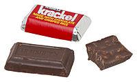 Miniature-sized Krackel bar