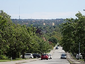 Aabyhøj - Aabyhøj is characterized by a panoramic view across the broad and flat river valley of Aarhus Ådal