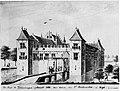Kruiningen, Kopie van een tekening van I. Hildernisse.. door Isaac Hildernisse.jpg