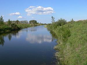Blagoveshchensky District, Altai Krai - Kulundinsky Irrigation Canal near the selo of Glyaden in Blagoveshchensky District