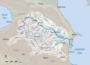 Kura River Basin