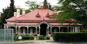 Kya Rosa, University of Pretoria - Image: Kya Rosa, b, Tuks hoofingang