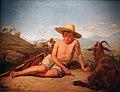 Léon Bonnat - Giotto gardant les chèvres.JPG