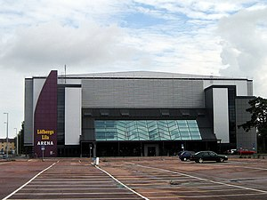 2010 IIHF InLine Hockey World Championship - Image: Löfbergs Lila Arena 060824