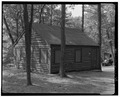 LAKE TAGHKANIC STATE PARK, WOOD-SIDED BATHHOUSE, VIEW N. - Taconic State Parkway, Poughkeepsie, Dutchess County, NY HAER NY,14-POKEP.V,1-69.tif