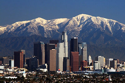 Los Angeles a San Gabriel Mountains