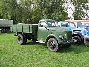 GAZ-51 - Image: LKW GAZ 51