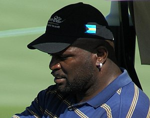 Lawrence Taylor - Taylor on the golf course in 2007