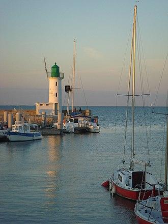 La Flotte - Entrance to the harbour