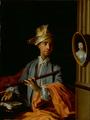 La Pouplinière,tenant une flûte d'après Carle Van Loo.png