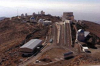 Swiss 1.2-metre Leonhard Euler Telescope - Image: La Silla from 3,6m