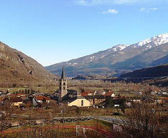 Venaus - Image: La chiesa parrocchiale di Venaus