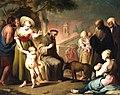 La conversión del lobo de Gubbio por San Francisco de Asís (Museo del Prado).jpg