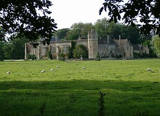 History of Lacock - Lacock Abbey from the southeast