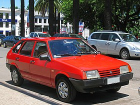 Lada 21093 Samara 1500 S 1995 in Chile.jpg