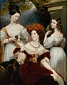 Lady Stuart de Rothesay and her daughters by George Hayter.jpg