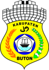Official seal of Buton Regency