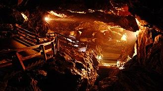 Lamprechtsofen - Image: Lamprechtsofen Lamprechtshöhle Lamprechts Cave 2