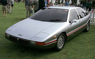 Concept car designed by Italdesign and built by Lancia