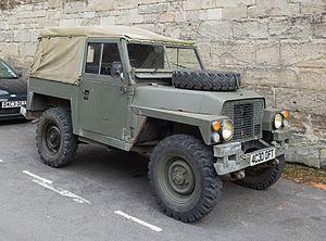 Land Rover 1/2 ton Lightweight - 1979 Series III - front