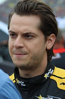 Landon Cassill American stock car racing driver