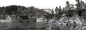 Eastern Østfold Line - Langnes Bridge
