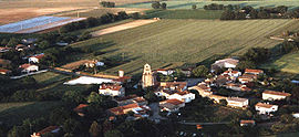 An aerial view of Lannes