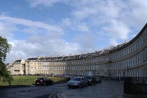 Lansdown Crescent, Bath - Image: Lansdown Crescent Bath