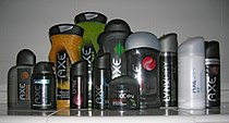 Large collection of Axe products.jpg