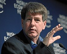 Larry Cox - World Economic Forum Annual Meeting Davos 2010.jpg