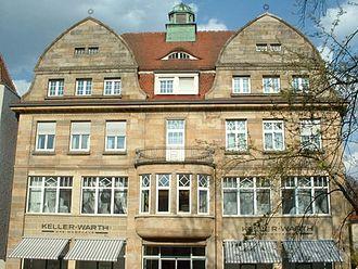 Siegfried Einstein - Former department store Einstein in Laupheim