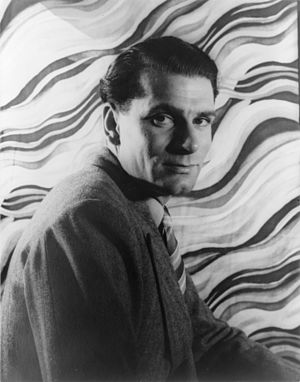 Royal National Theatre - Laurence Olivier was the first artistic director of the Royal National Theatre, in 1963. Shown in a photograph by Carl Van Vechten, 1939