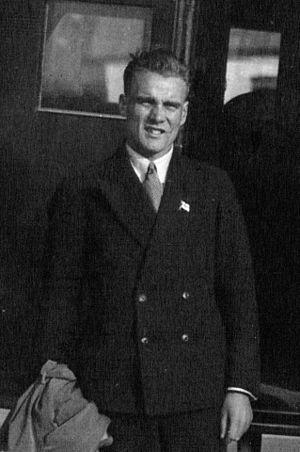 Lauri Lehtinen - Lauri Lehtinen in 1931