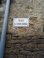 Lavans-lès-Dole - Rue du Four Banal (plaque).jpg