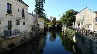 Der Fluss in Coulommiers