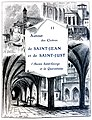 Le Lyon de nos pères, Vingtrinier et Drevet, 1901, page 021, Rougeron-Vignerot-Demoulin et Joannès Drevet, chapitre II, le lazaret de la Quarantaine, l'église Sainte-Croix, le petit cloître Saint-Jean.jpg