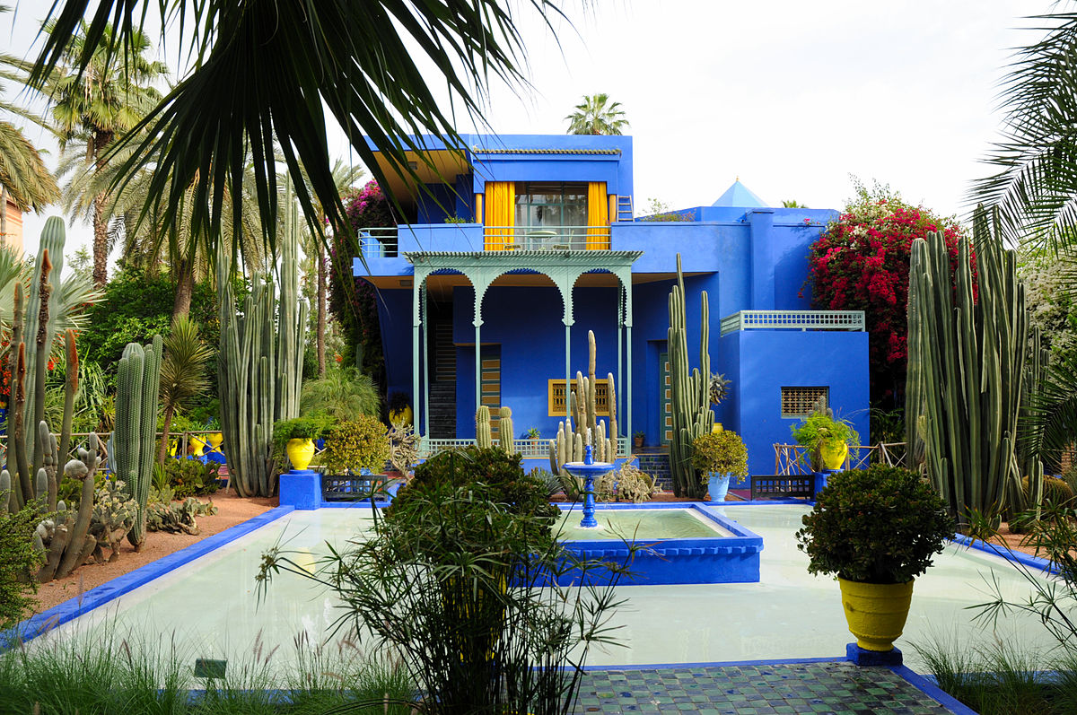Jardin majorelle wikip dia for Jardin yves saint laurent marrakech
