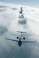 Learjet 45 of the Irish Air Corps in flight.jpg