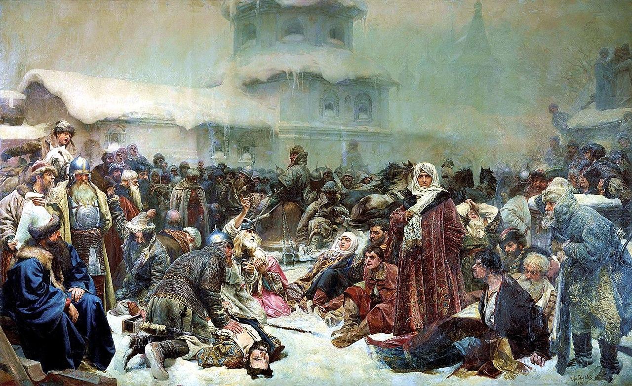 イヴァン3世によるノヴゴロド共和国の破壊/wikipediaより引用