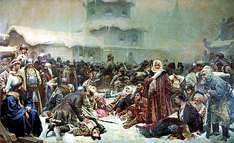 Ivan III of Russia - Ivan's destruction of the Novgorod assembly