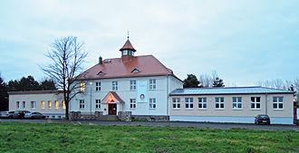 Zwenkau - Image: Lebenswelt Grundschule in Döhlen (Zwenkau) 2014